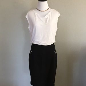 c7d82601bd Women s Black And Sexy White Linen Dress on Poshmark